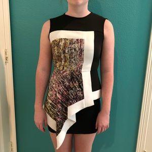 Gorgeous asymmetrical BCBG dress!